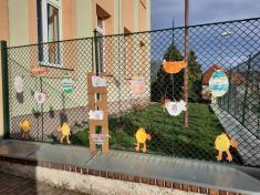 Velikonoční výstava v ZŠ Chlumín 2021